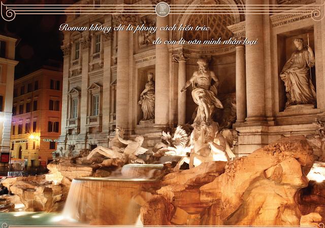 Roman Plaza, nét châu Âu trong lòng Hà Nội