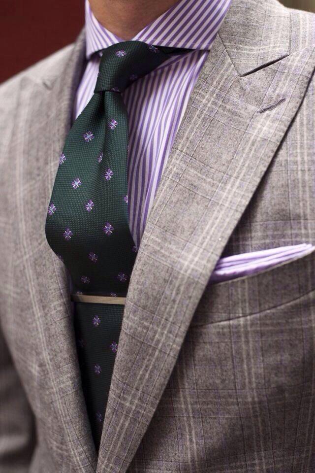 серая рубашка какой галстук