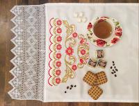 кружева салфетки полотенца для кухни