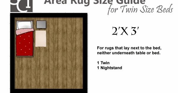 Area Rug Size Guides For Twin And Queen