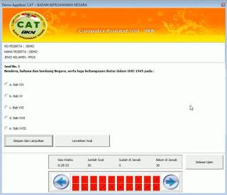 Aplikasi CAT CPNS Offline