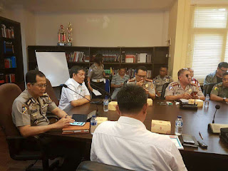 Untuk Manado Fiesta, GSVL Gandeng Pihak Kepolisian Bahas Soal Lalu Lintas