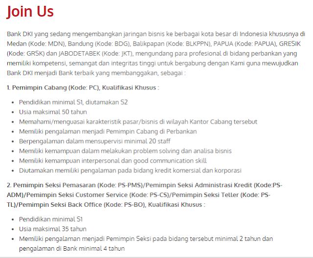 Terbaru Bulan Ini  - Lowongan Kerja BANK DKI Surabaya Terbaru 2020