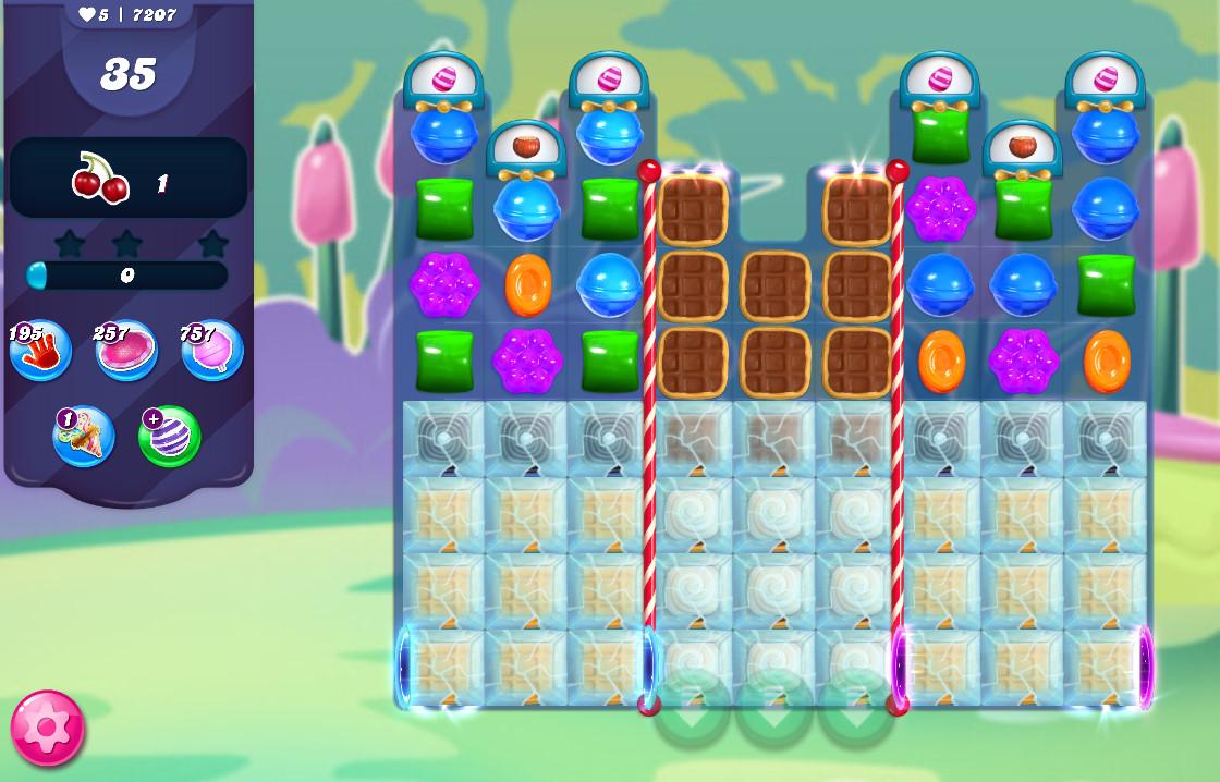 Candy Crush Saga level 7207