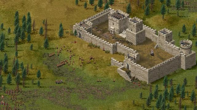 Stronghold 1 PC Games Gameplay