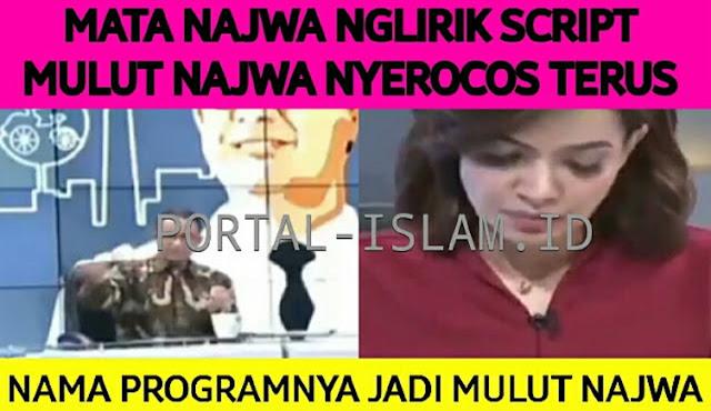 Mata Najwa Terus Nyontek, Mulut Najwa Terus Nyerocos, Warganet Usul: Ubah Nama Programnha Jadi Mulut Najwa!