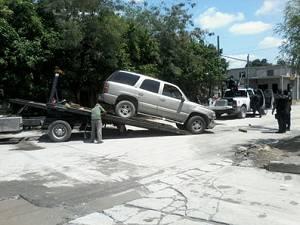 Persecucion y balacera en calles de Reynosa Tamaulipas; tres detenidos