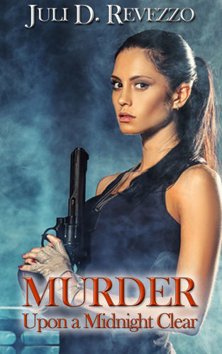 Murder Upon a Midnight Clear by Juli D. Revezzo, borrow Free with Amazon Prime, paranormal, detective, romantic suspense, mystery, holiday story
