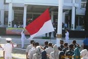 Upacara Peringatan Hari Sumpah Pemuda Ke 84  Di Kabupaten Kepulauan Selayar