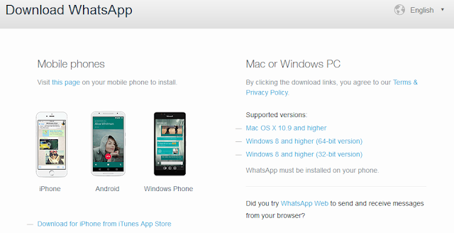 How To Install And Download App WhatsApp For Your PC Without Emulator
