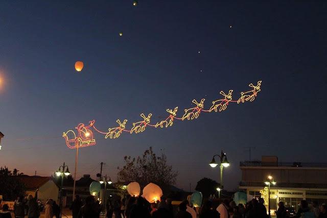 Χριστουγεννιάτικη εκδήλωση στη Νέα Τίρυνθα