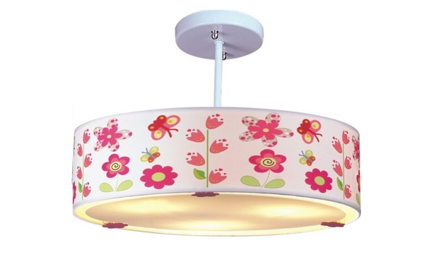 Desain Lampu Gantung Cantik untuk Kamar Tidur Anak Perempuan