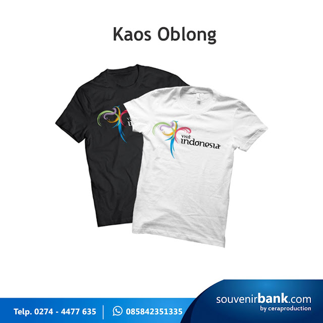 souvenir bank - kaos oblong