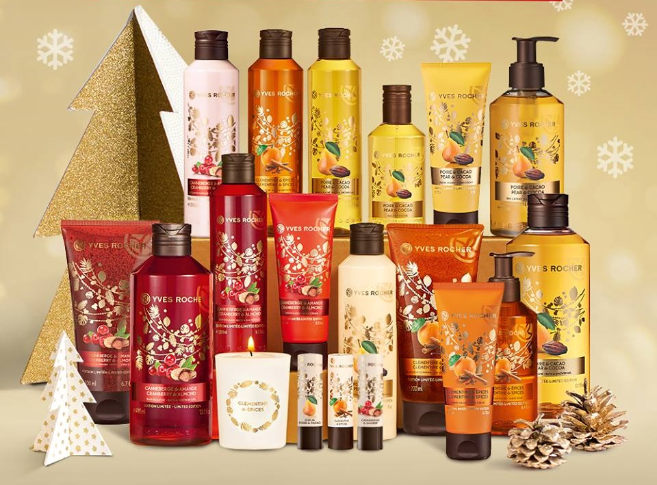 Yves Rocher Christmas Collection 2016 Classy And Pink