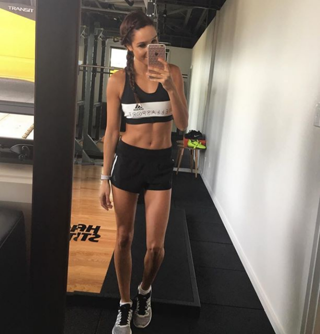 Australian Fitness Model Kayla Itsines Instagram