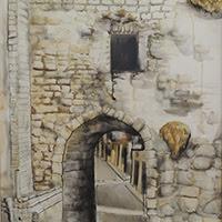 María Teresa Berrios pintura figurativa paisaje