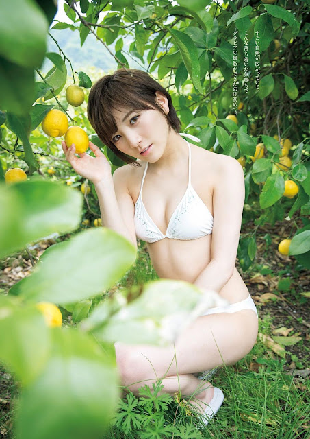 Okada Nana 岡田奈々 Weekly Playboy May 2017 Images