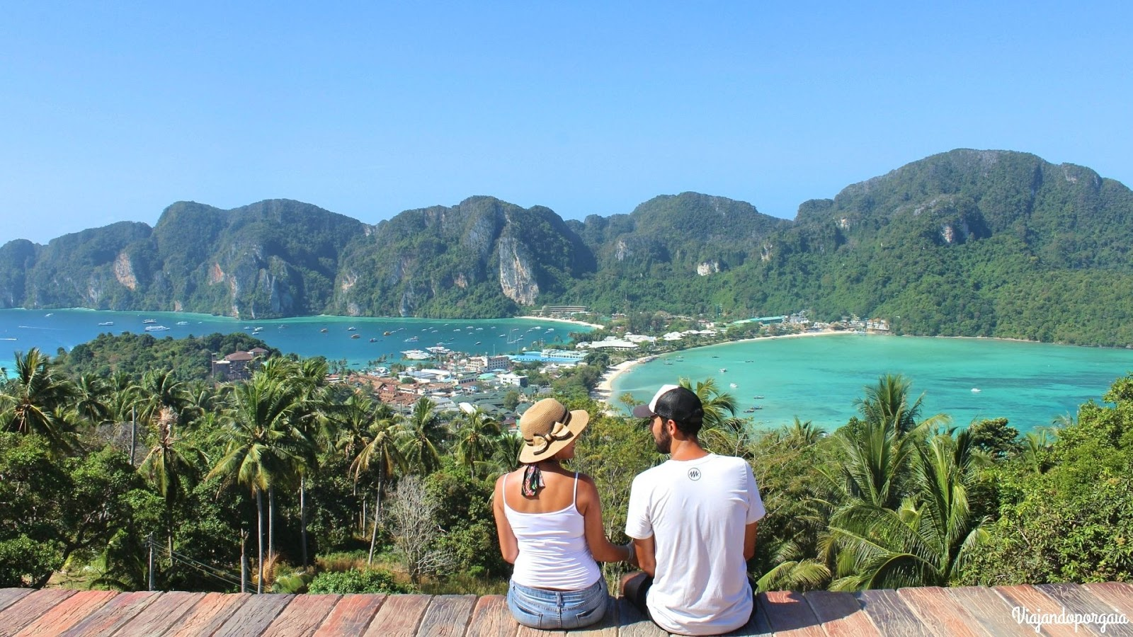 Viewpoint de la isla Phi Phi, Tailandia