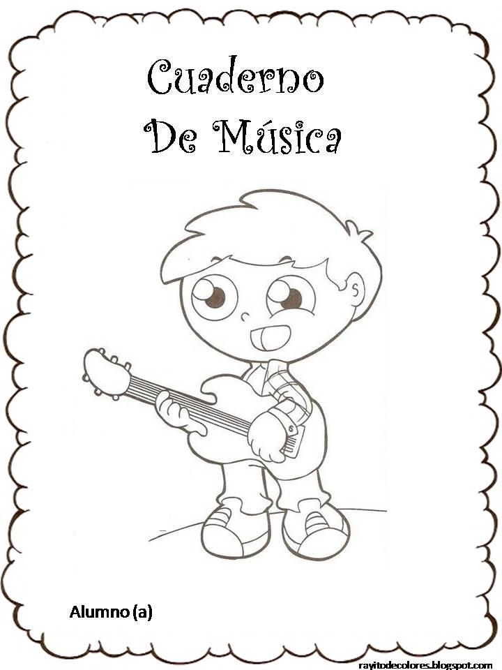 Imagenes Para Colorear De Musica