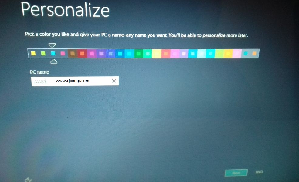 Cara Recovery Windows 8 di Laptop Sony VAIO ~ Tempat