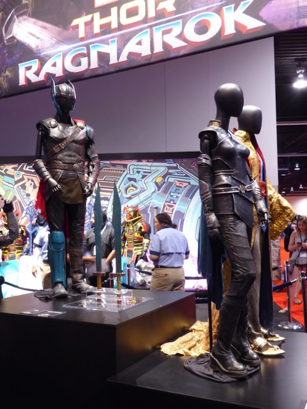 Thor Ragnarok costume exhibit D23 Expo 2017