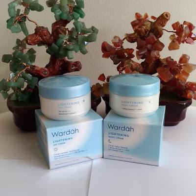Wardah Lightening Cream Siang dan Malam Step 1 | Jual Kosmetik Lampung | Jual Cosmetics Lampung