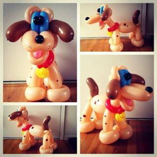 Gambar Balon Karakter Puppy_Anak Anjing Lucu_Balloon Character Puppy_19