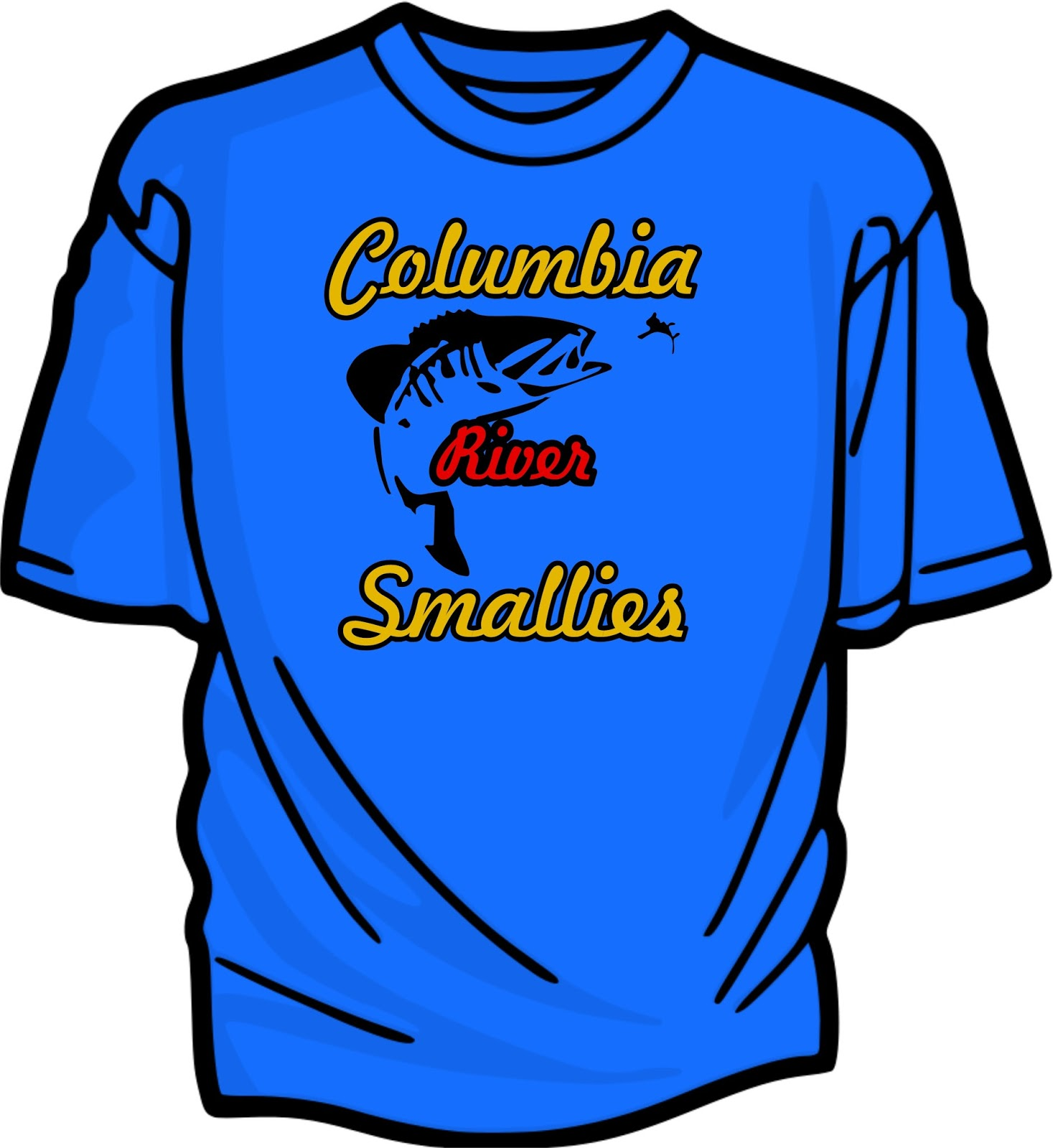 ea094174738 Columbia River Smallies are the Best. Custom shirts shipped to your door  from $20. More shirts lower the cost. Email bridgetowntees@gmail.com for  details.