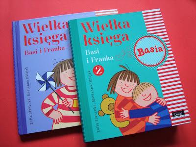 Wielka księga Basi i Franka, książka dla przedszkolaka