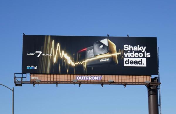 GoPro Hero 7 Black Shaky video is dead billboard