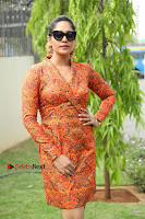 Actress Mumtaz Sorcar Stills in Short Dress at Guru Movie Success meet  0217.JPG