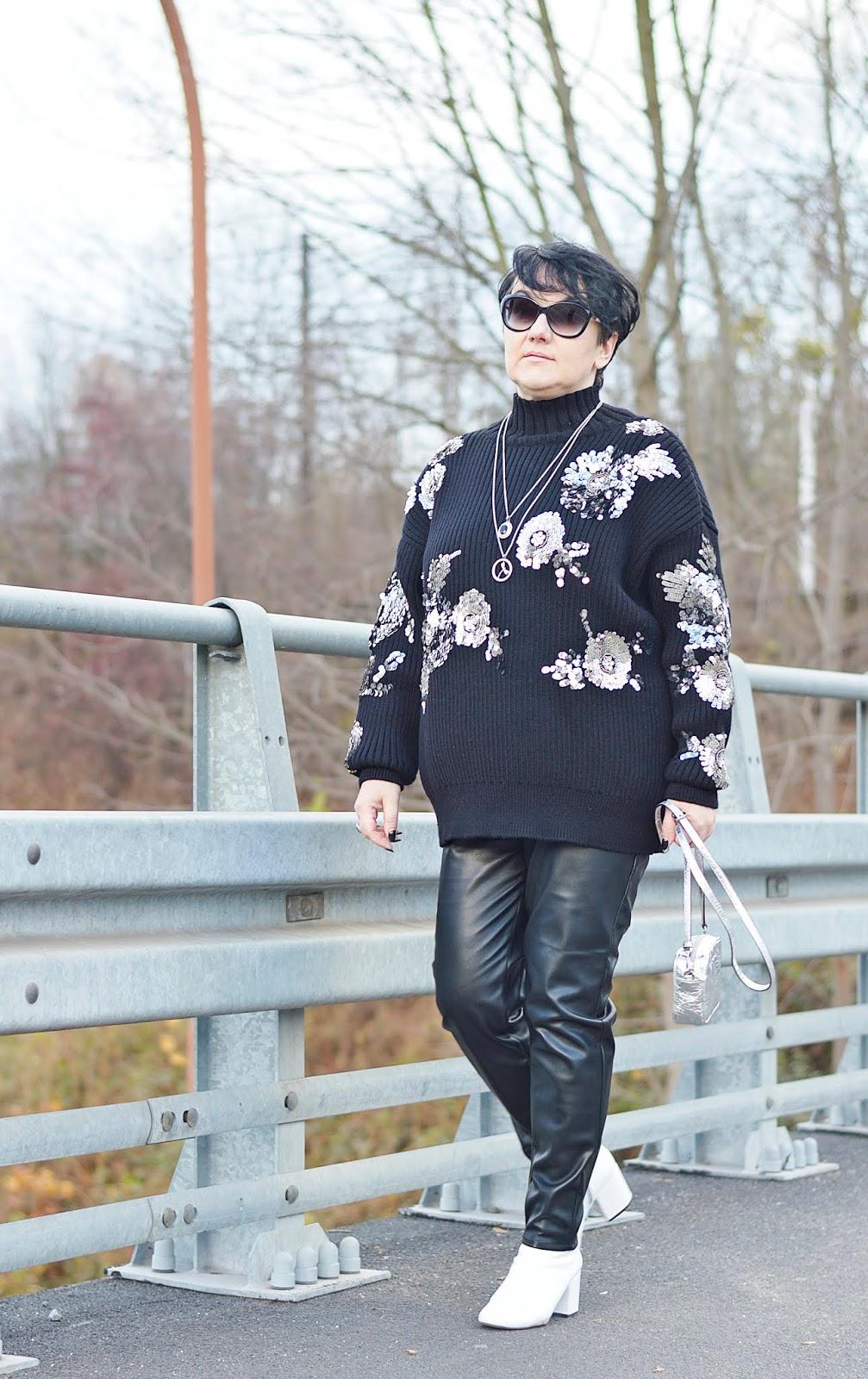 Swetrzysko, Sweter glamour Zara