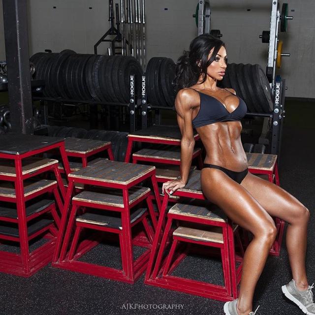 Lindsay Pinsonneault IFBB Bikini Pro and CBBF National