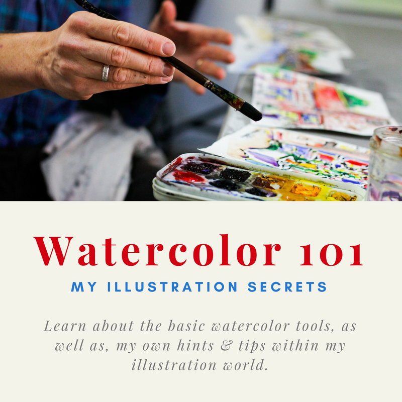Join My Watercolor Class! <br> (Learn the basics!)