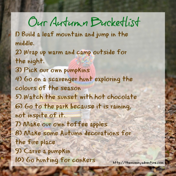 Autumn family bucket list, Autumn bucket list, fall bucketlist, Autumn family activities