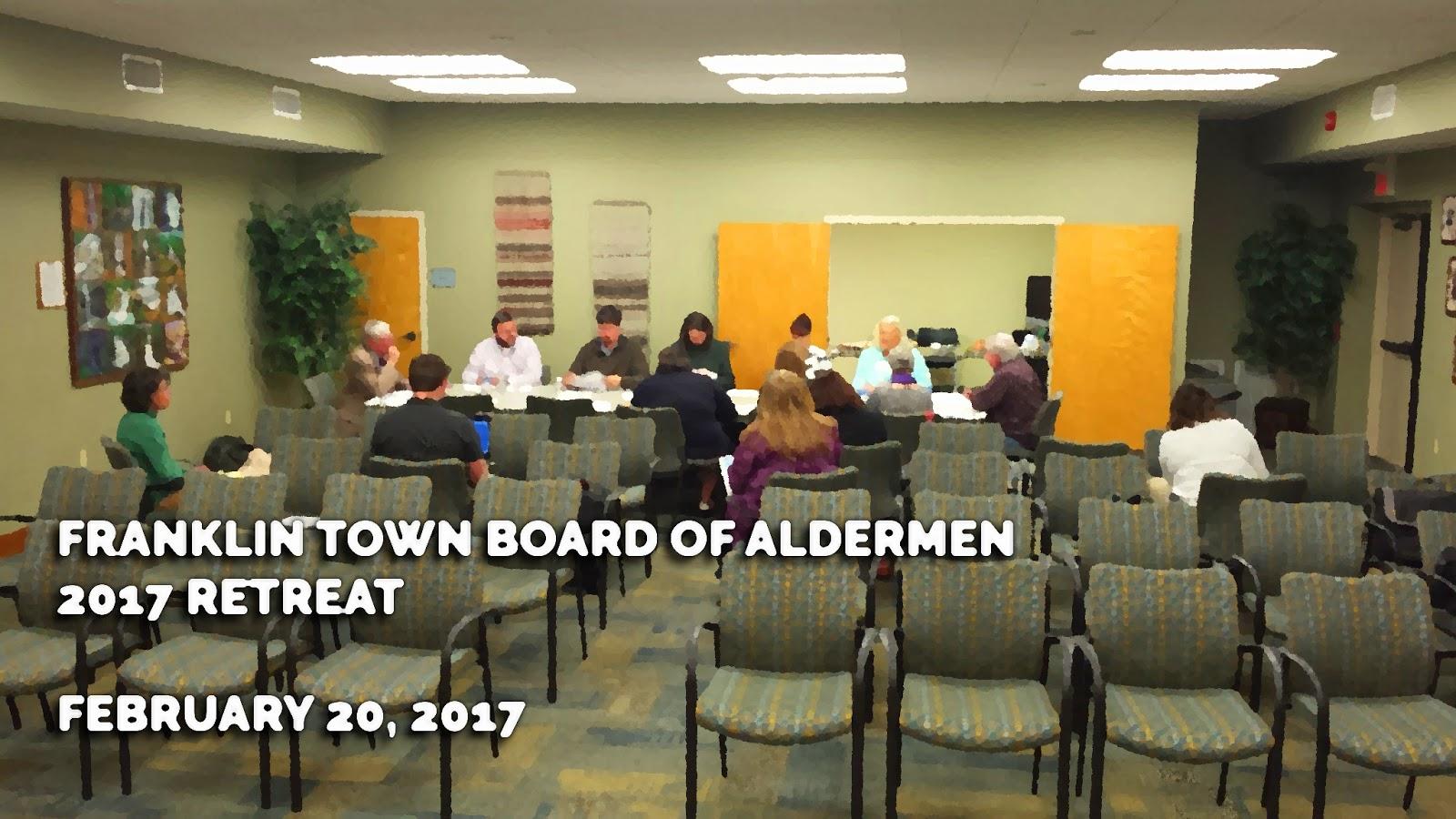 Franklin Town Board  2017 Retreat Title Card