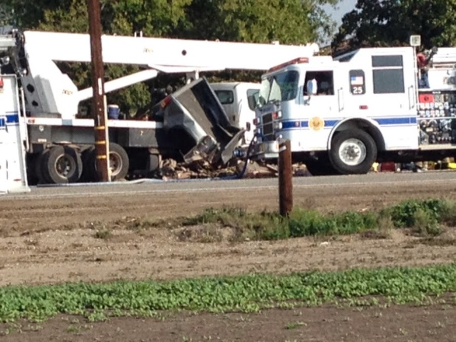 kern county buttonwillow crane truck crash fatality carrie gilliard joshua shepherd