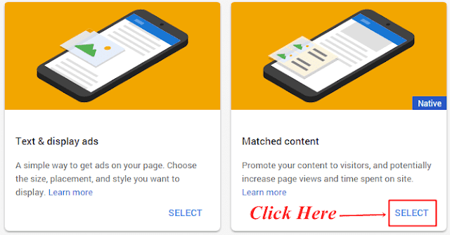 Adsense matched content ads kaise add kare,