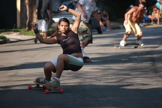 Existe um grupo chamado Skirtboarders que foi formado em Montreal 0570c9b983e