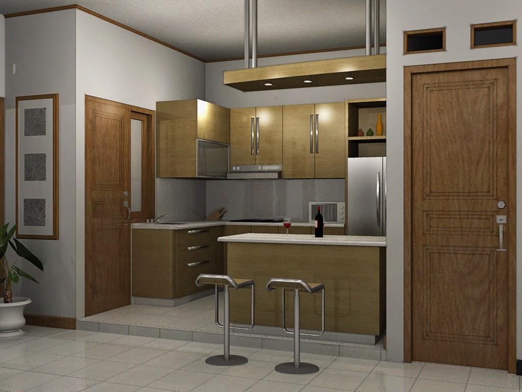 Kombinasi Desain Ruang Makan dan Dapur Minimalis  Juliana