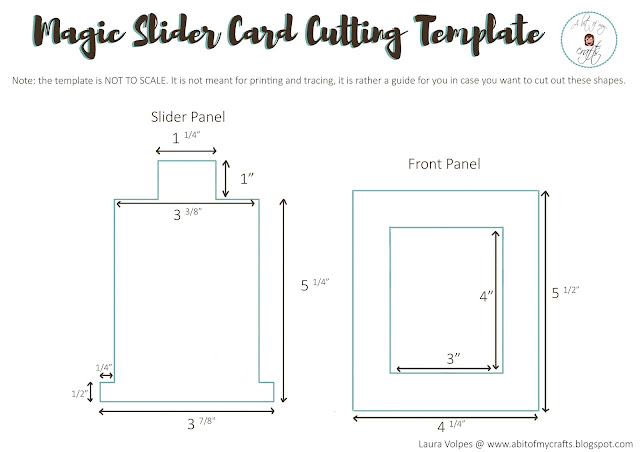 Magic Slider Cutting Template
