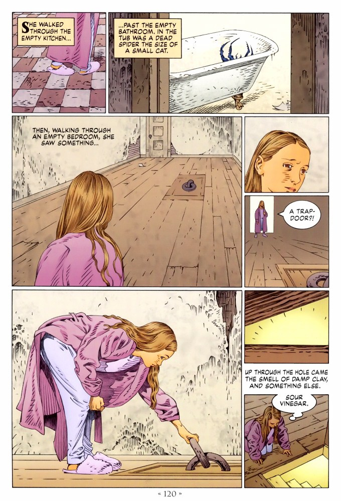 Read page 120, from Nail Gaiman and P. Craig Russell's Coraline graphic novel