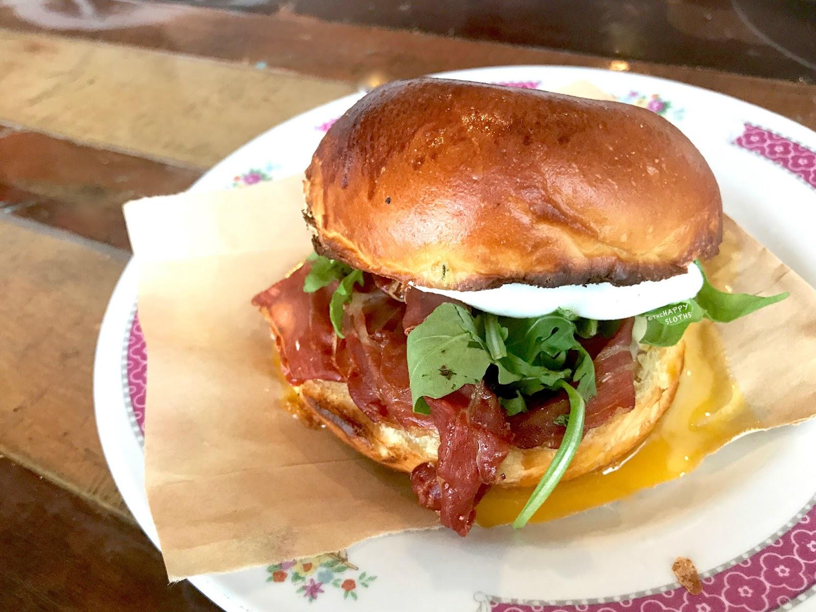 Spade Vancouver | Meat Breakfast Sammy