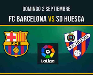 مباراة برشلونة و هويسكا بث مباشر