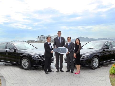 Mercedes-Benz Việt Nam bàn giao xe S-Class cho Vinpearl Hạ Long Bay Resort
