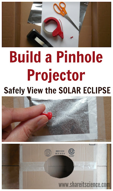 Build a Pinhole Projector to Safely View the Solar Eclipse