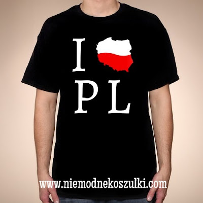 Koszulka I love PL