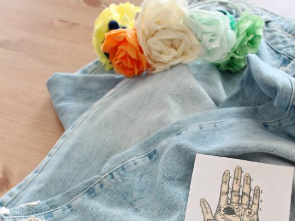 Refashion Tag #1 Jeans Coachella Style