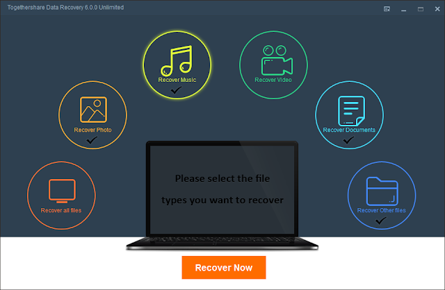 together share data recovery unlimted