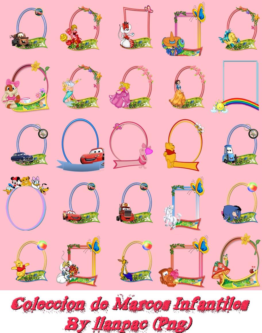 Descargar Pack De 90 Marcos Infantiles Trucos Para Tus Fotos